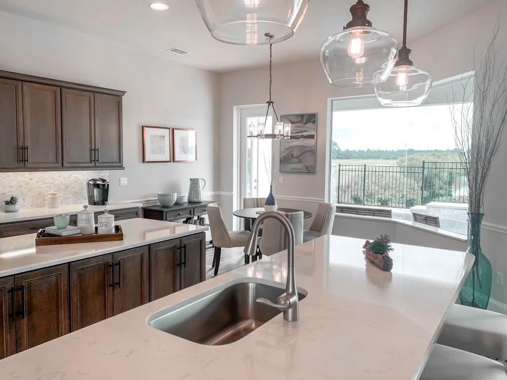 Granite in Model Kitchen